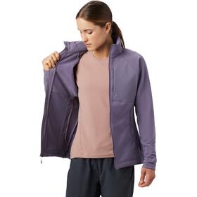 Mountain Hardwear Keele Chaqueta Cremallera Completa Mujer, violeta